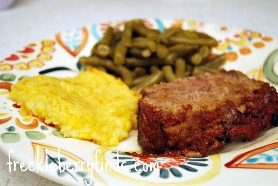 The easiest and BEST meatloaf you'll ever eat!