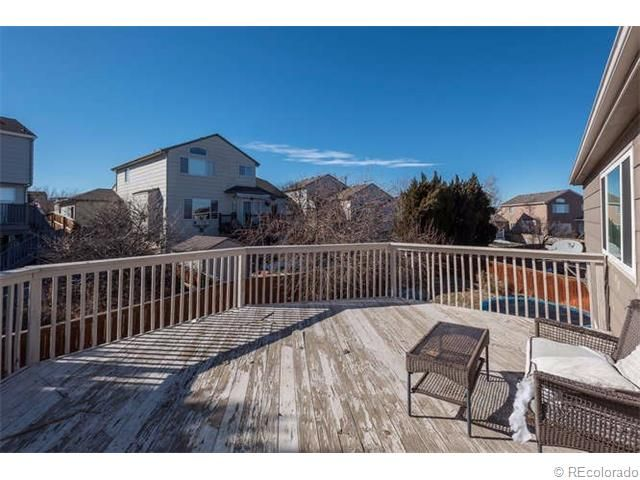Now that's a deck with a view! Check out this house on White Oak Drive.