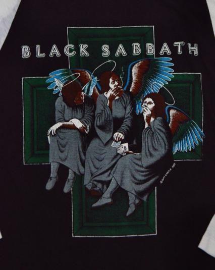 Black Sabbath Heaven And Hell Canvas Album Cover Art Picture