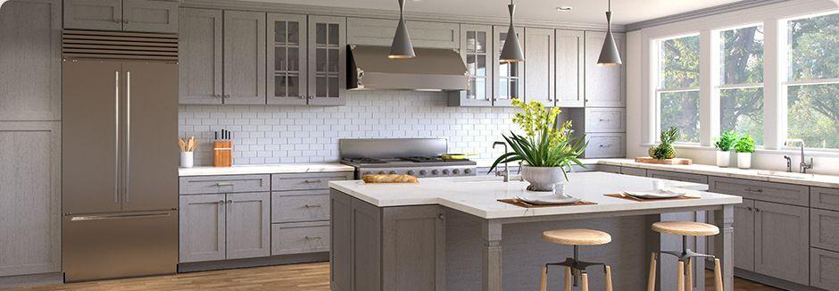 Best Nova Light Grey Shaker With Images Kitchen Renovation 400 x 300