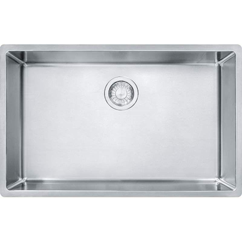 Franke Cux11027 Steel Kitchen Sink Single Bowl Kitchen Sink Sink