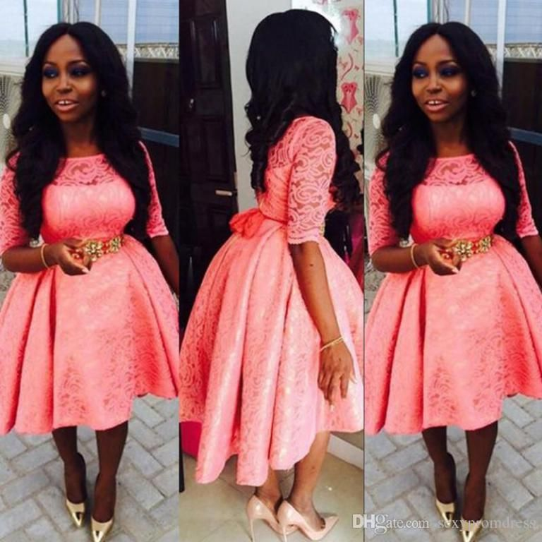 Nigerian Lace Short Gown Styles 5 Styles Pinterest Style