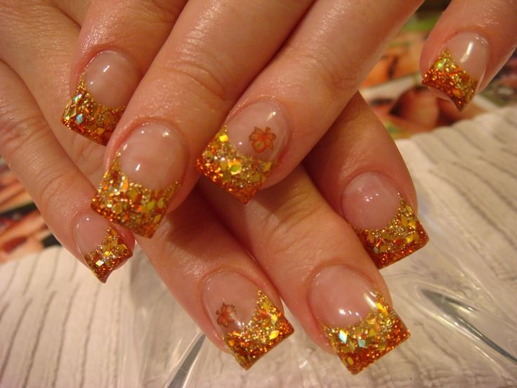 Fall or autumn nails nails toes pinterest fall or autumn this past monday i went to the most amazing young nails acrylic halloween nail art class amanda dodge taught and she really stepped up her prinsesfo Image collections