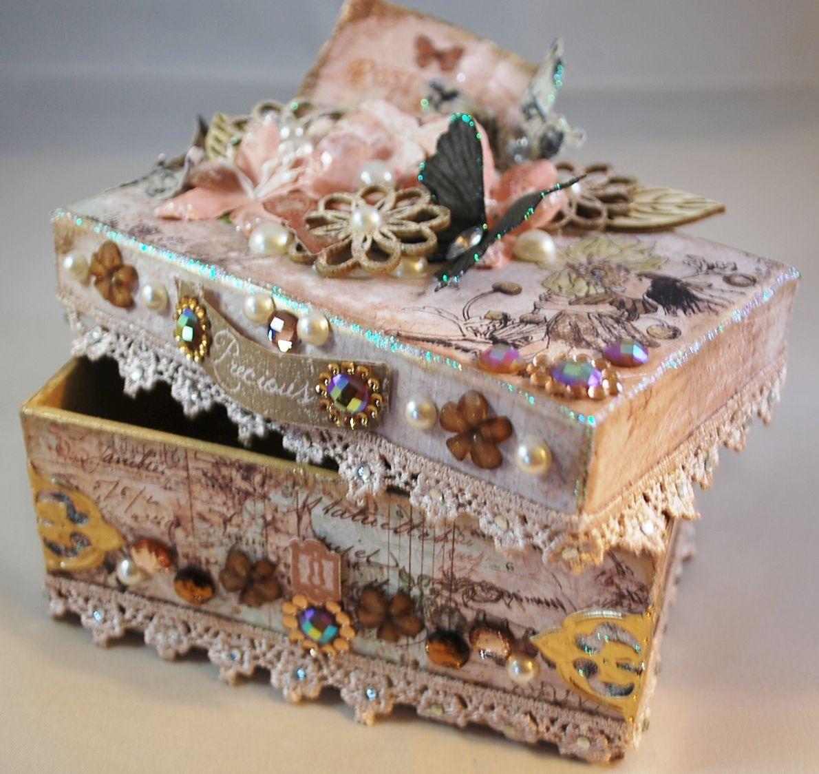 декор коробок своими руками в картинках славятся неимоверной красотой