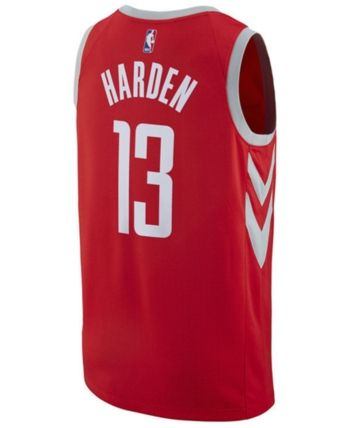 399f835c3 Nike Men s James Harden Houston Rockets City Swingman Jersey - Red XXL