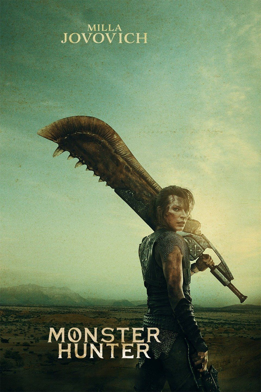 Monster Hunter 2020 Google Search In 2020 Monster Hunter Movie Monster Hunter Milla Jovovich