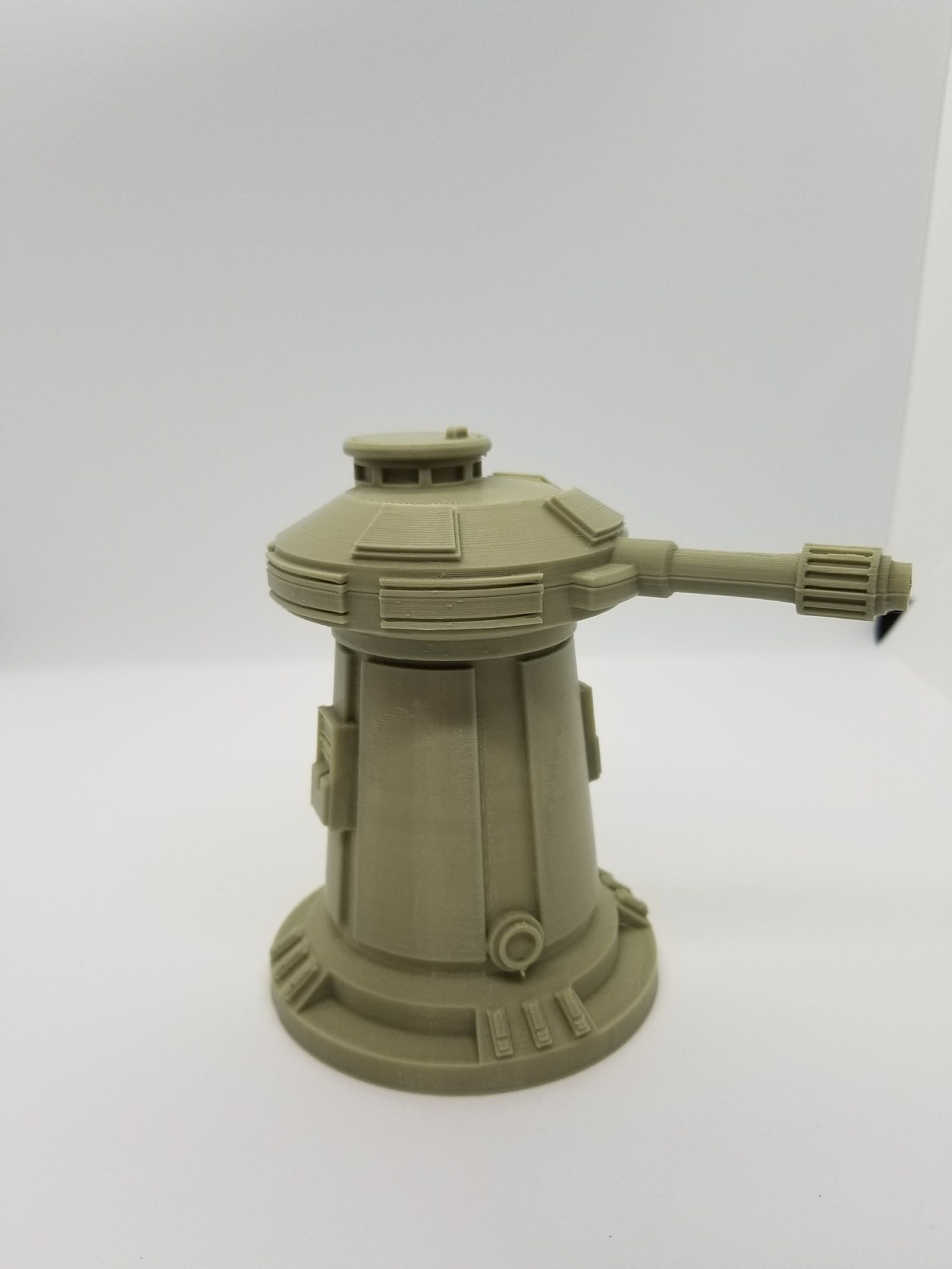 3d Printed Star Wars Legion Compatible Turret / 28mm Tabletop