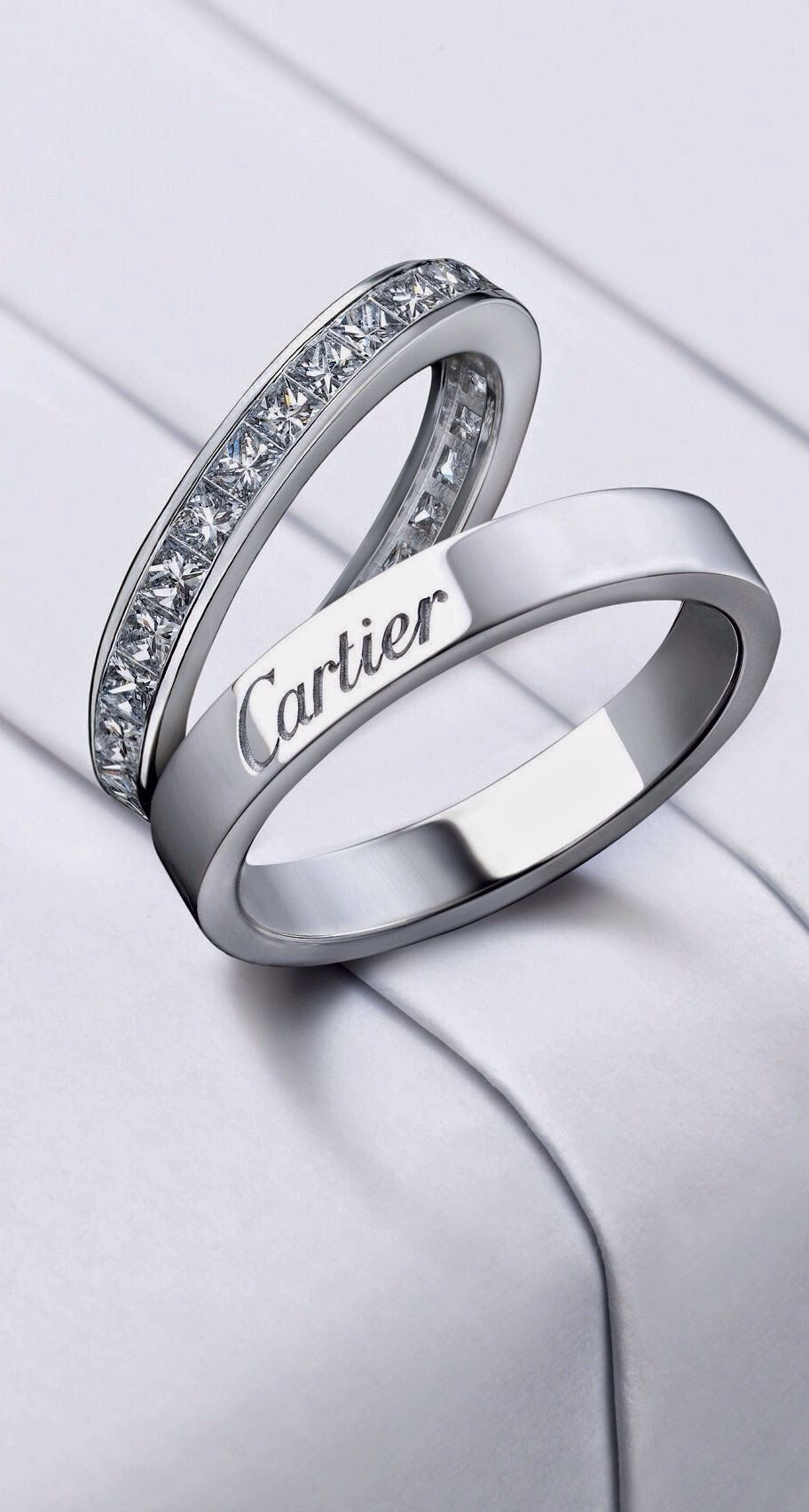 Cartier wedding rings wedding bands pinterest cartier wedding cartier wedding rings junglespirit Choice Image