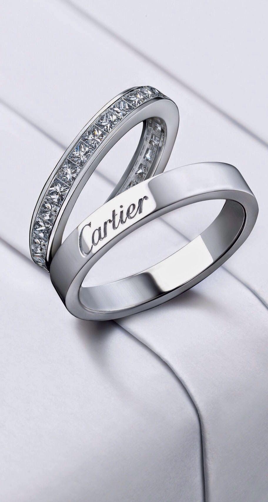 Cartier Wedding Rings! Alianças de casamento cartier