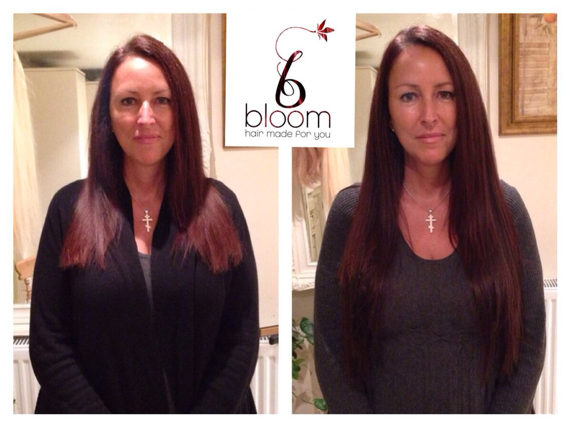 A Beautiful Full Head 22 Bloom Long Strong Lustrous Hair With