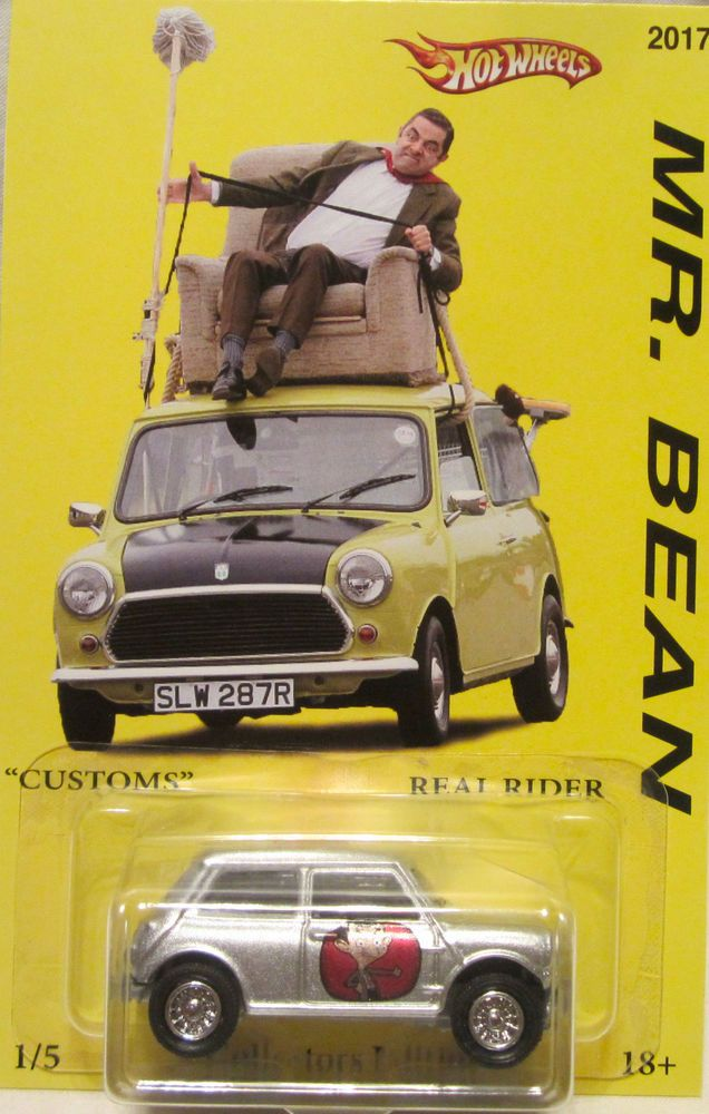Matchbox CUSTOM MORRIS MINI Mr. Bean Real Riders Limited 1/5 Made