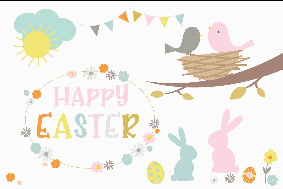 Happy Easter , #Aff, #colour#fun#Includes#palette #AD #happy Easter party