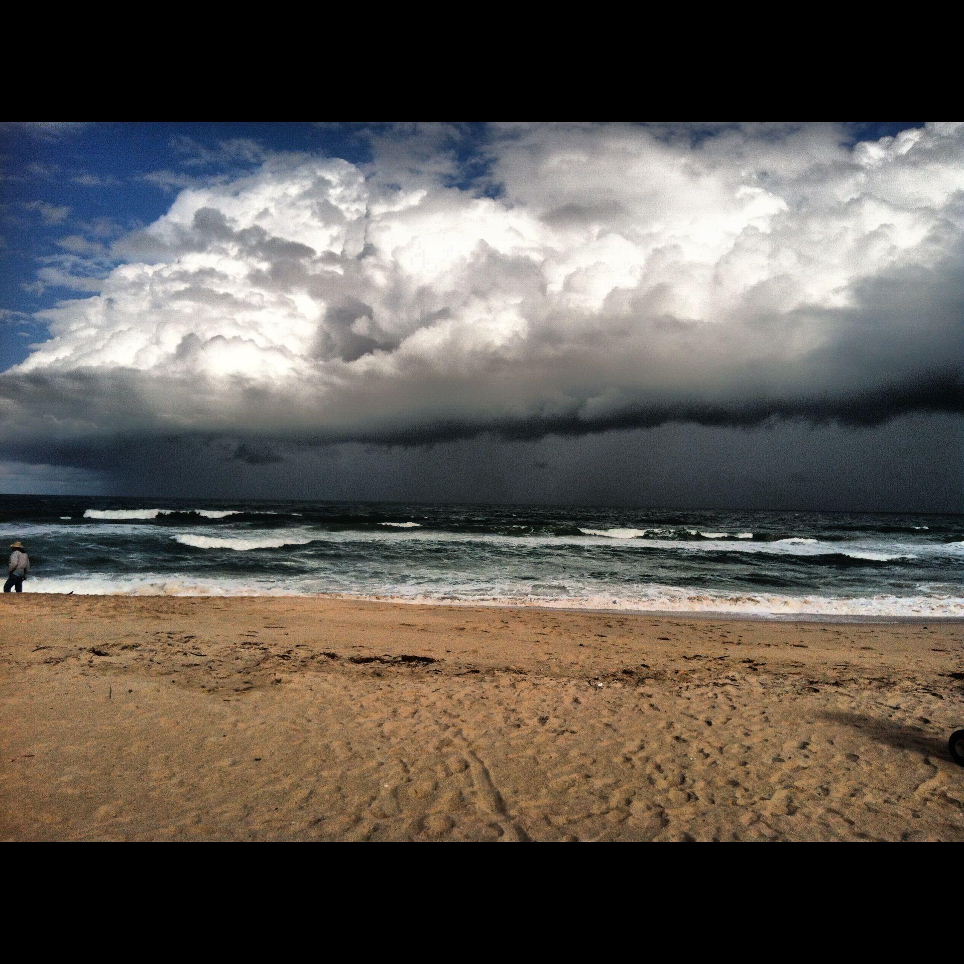 Just before the storm vero beach vero beach beach ocean