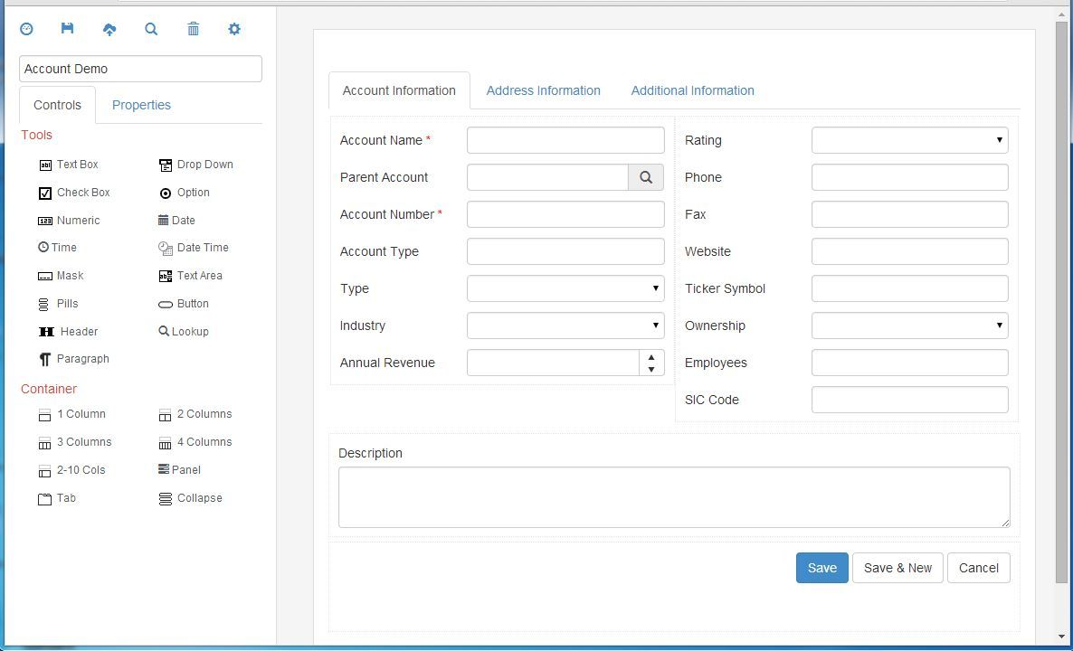 Protostrap An Online Form Builder Based On The Built With
