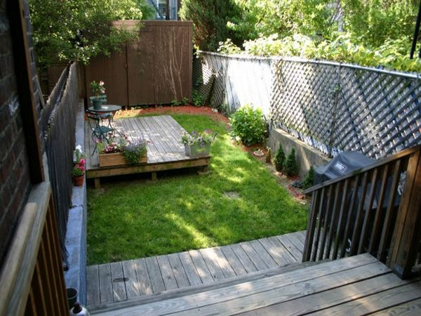 Cheap Garden Ideas Small Backyard Garden Design Small Backyard