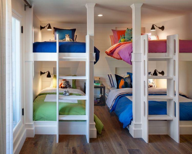Kinderzimmer neutral ~ Vier kinder geschwister gemeinsames kinderzimmer einrichten