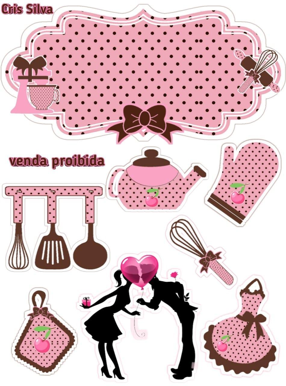 Pin de Vanessa Atanazio em toppers para bolo scrapcake   Bolo de ...