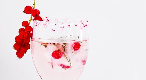 Bebida #inspiración en #Rojo para tu #Boda #EvaBrazzi