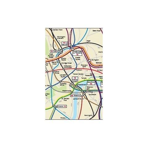 London Underground & National Rail Geographical ...