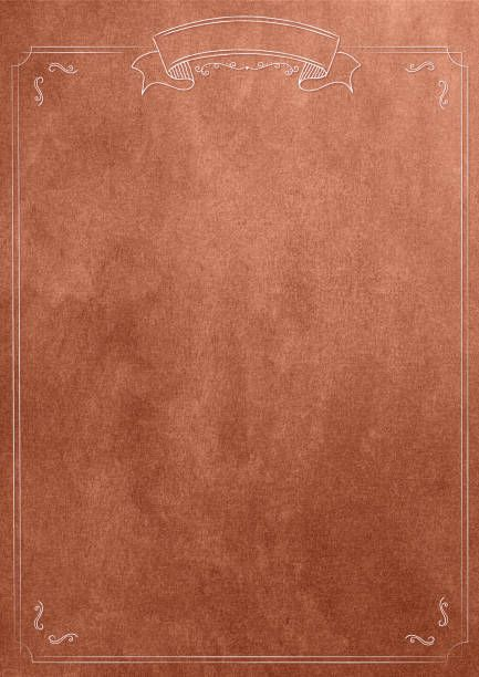bronze texture blank paper background with retro border likeagod - blank paper background