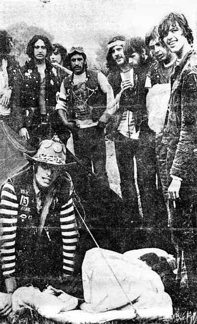 Woverhampton Hells Angels at Hells Angels 1970s | Hells ...  Sonny Barger Hells Angels 1970