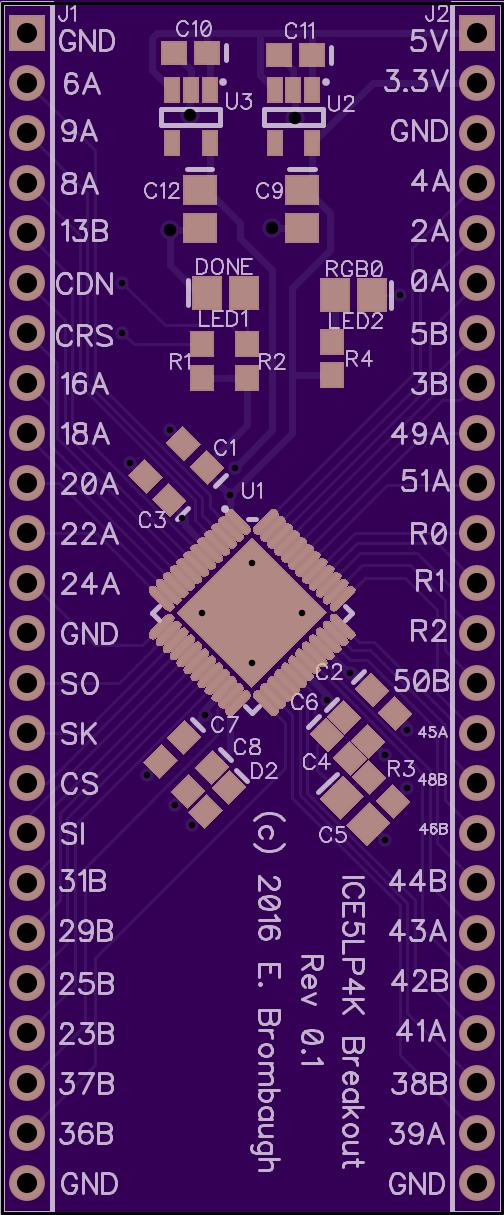 Lattice FPGA breakout | C * HARD * CPU in 2019 | Electronics