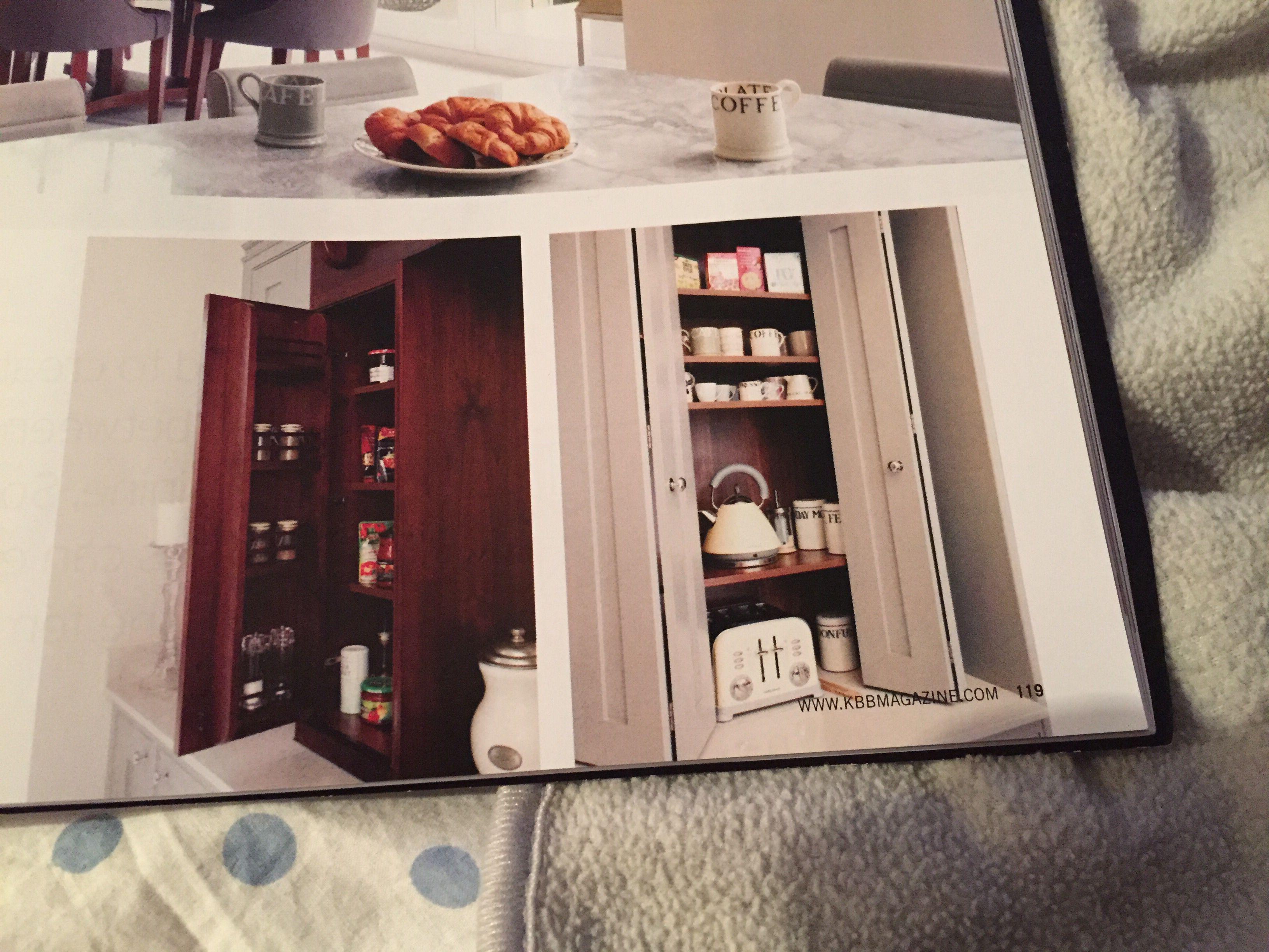 Küche - Regal hinter Türen | Inspirations | Pinterest | Regal, Türen ...