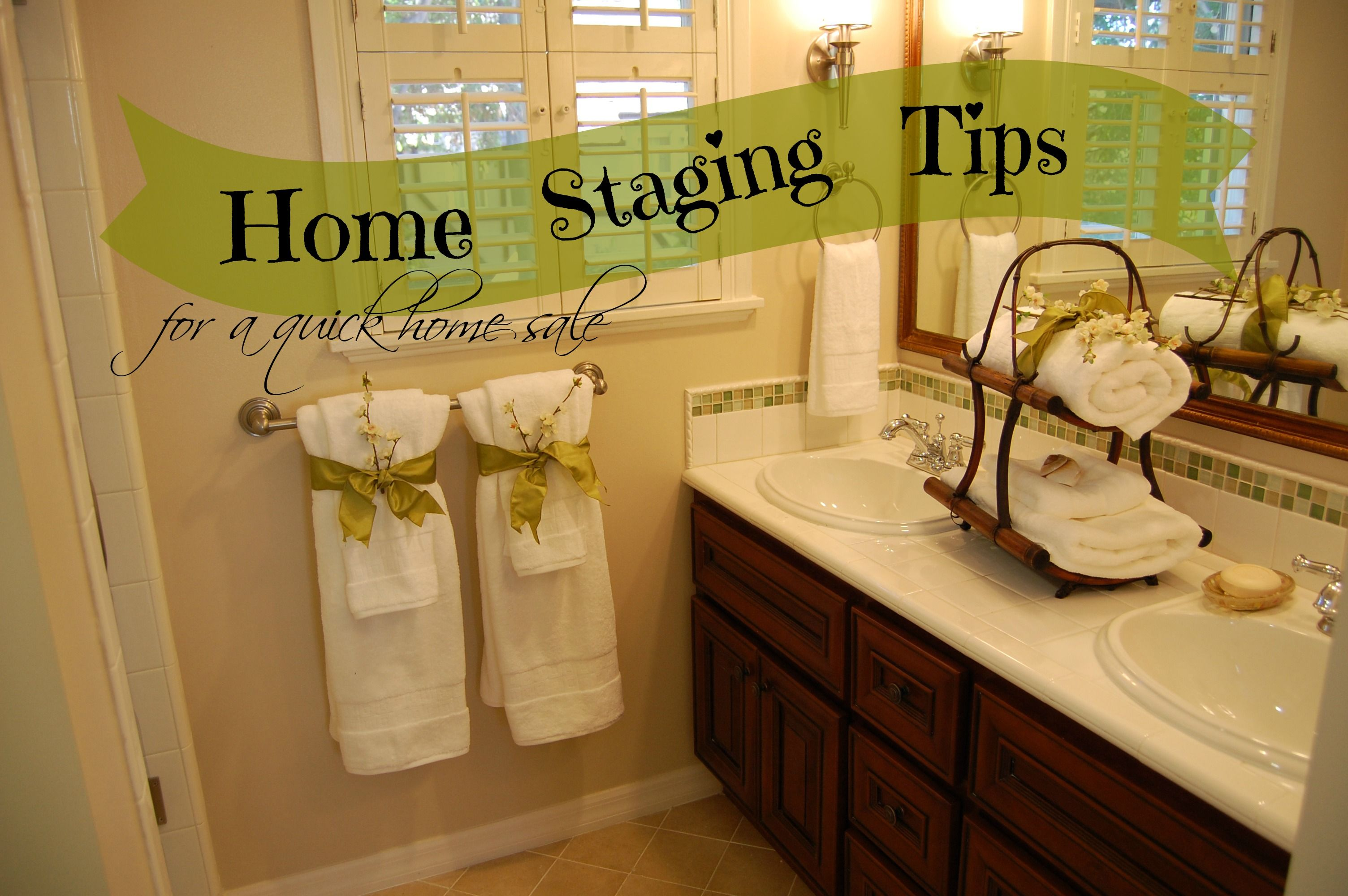 home staging tips for a quick home sale home selling pinterest