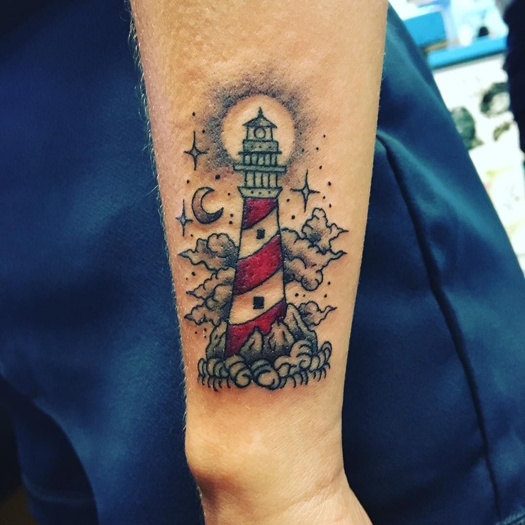 Google Image Result For Https I Pinimg Com Originals 98 4d F1 984df16a10a0ef35479a7ea6949c2ac0 Jpg In 2020 Lighthouse Tattoo Ankle Tattoo Designs Body Art Tattoos
