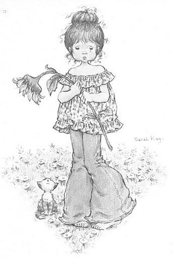 Sarah Kay Desenhos Para Colorir Adultos Bonecas E Desenhos