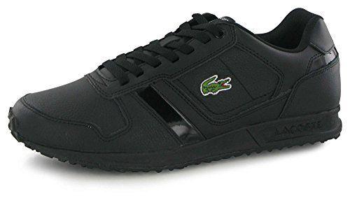 7445b52e4a Lacoste Vauban Pat noir, baskets mode homme: Sneakers, LACOSTE, Homme,  Vauban Pat, Noir Noir Lacoste Livraison à domicile express ou…