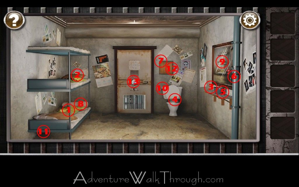 Apartment Room Escape 3 Walkthrough images of escape rooms | escape the prison room level3 walkthrough