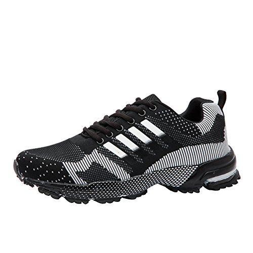Wealsex Unisex-Adulto Zapatos Para Correr EN Montaña Asfalto Aire ...