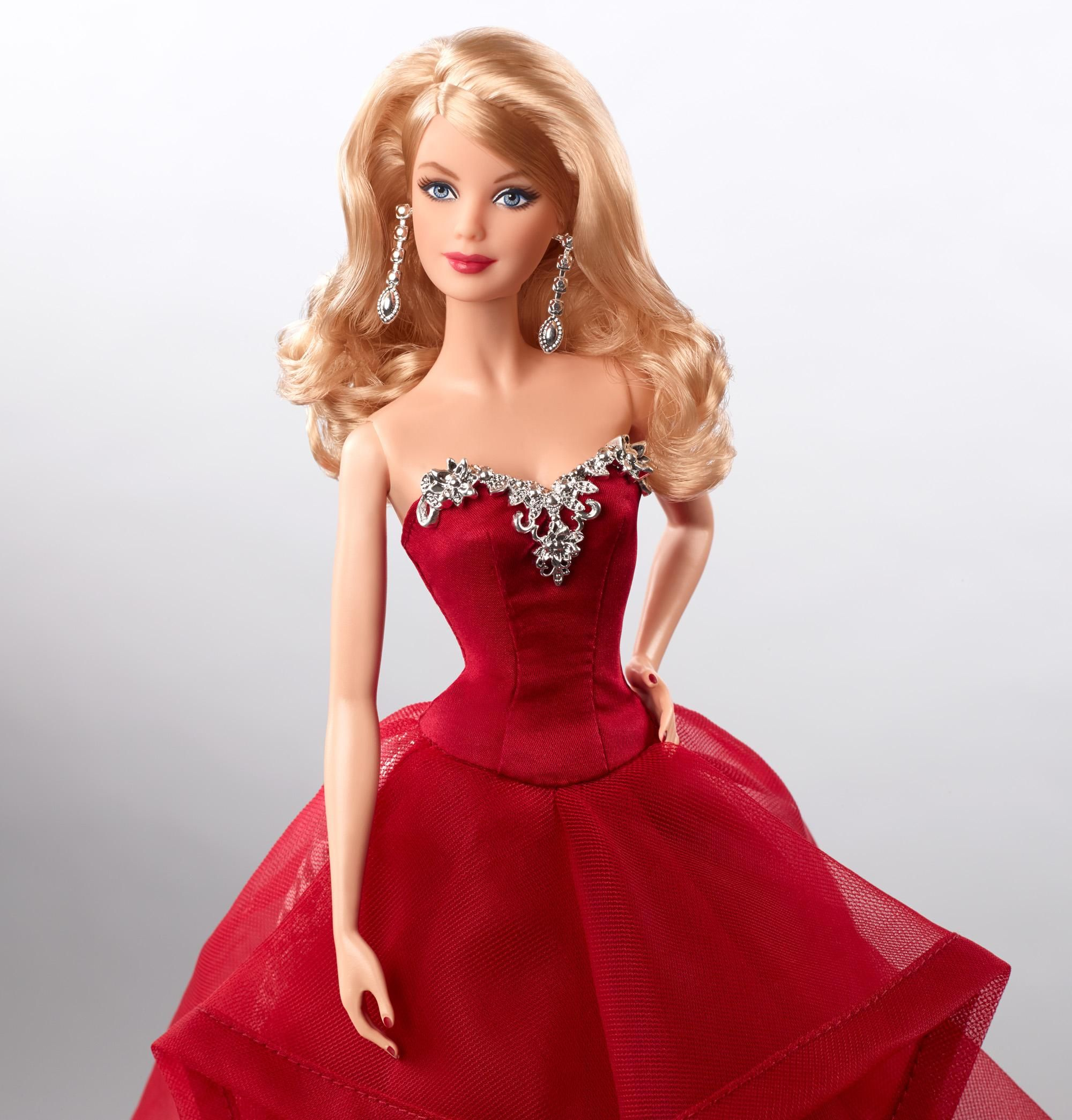 Barbie Doll Fashionistas Clothing Fashion Complete Look Red Sheer Chic Gown