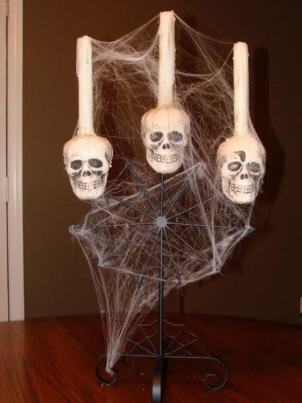 DIY Halloween DIY Spooky Halloween Candelabra DIY Halloween