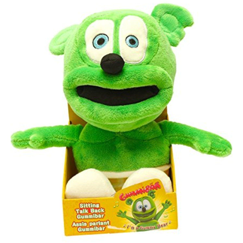 Official Gummibr Talking Stuffed Gummy Bear ** Want