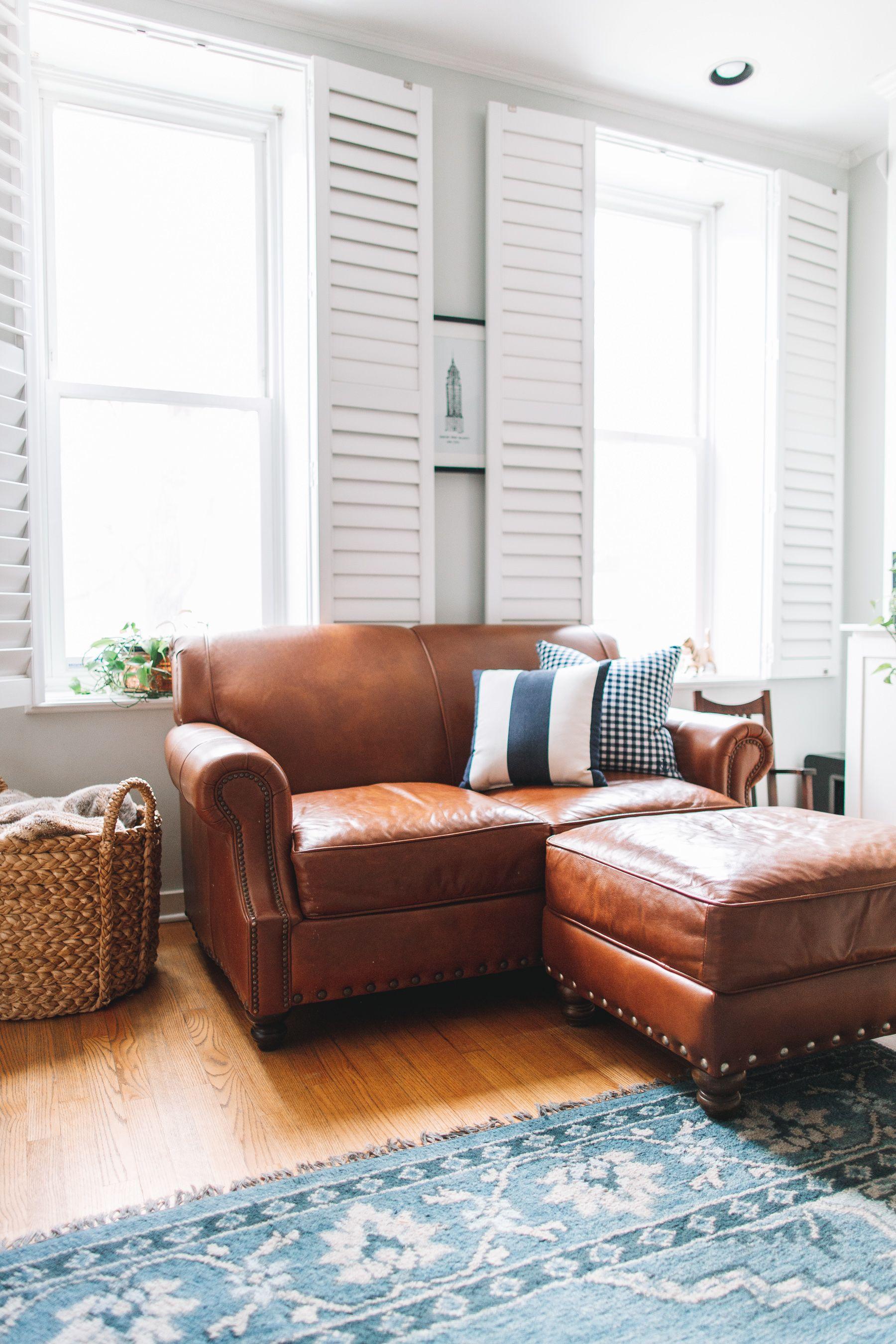 Birch Lane Landry Leather Sofa Review Leather sofa