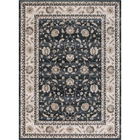 Concord Global Troy Green Rectangular Indoor Machine-Made Oriental Area Rug (Common: 3 X 5; Actual: 3.25-Ft W X 4.58-Ft