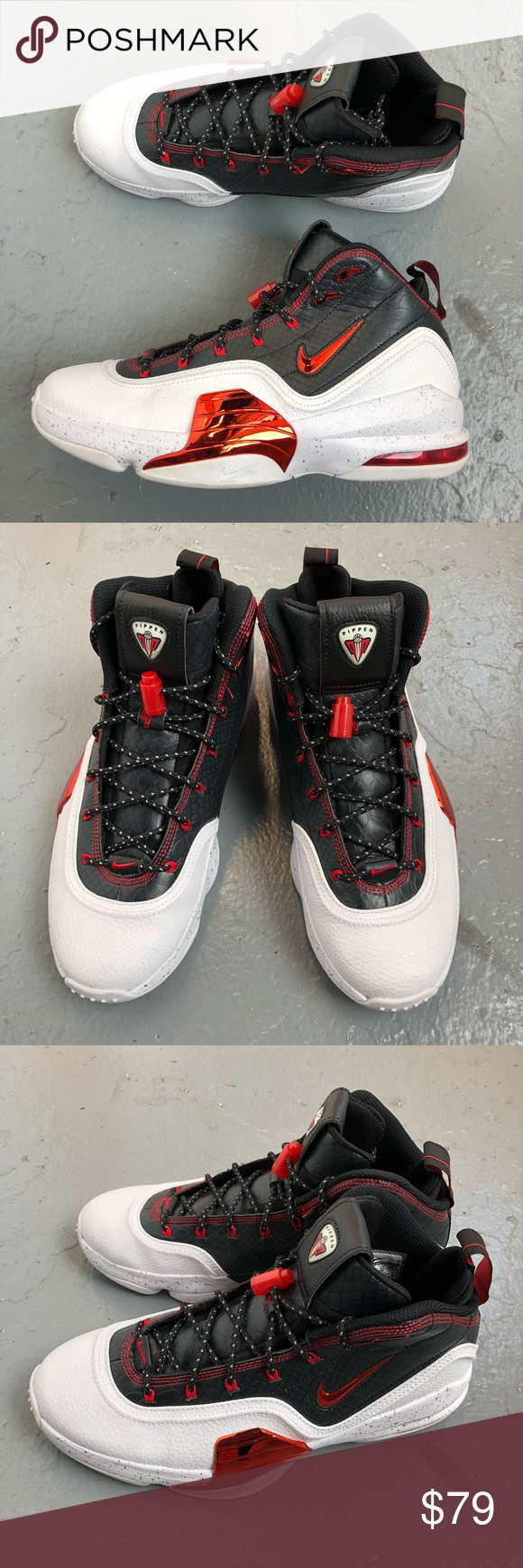 e6e35947fdca Air Pippen 6 UNIVERSITY RED WHIT... RELEASED 10 27 14