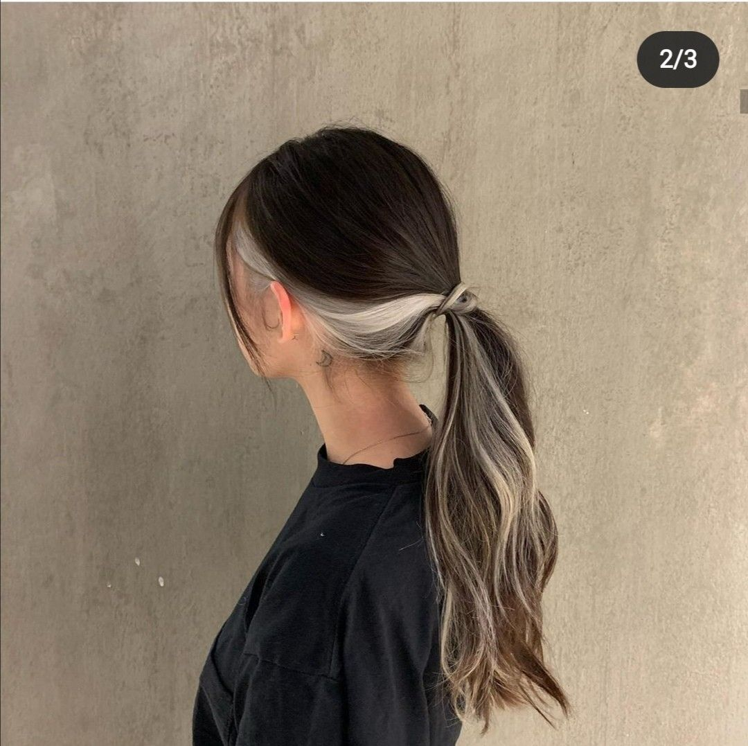 Pin By Blendy Lua On Hair In 2020 Hair Inspo Color Hair Color Streaks Hair Color Underneath