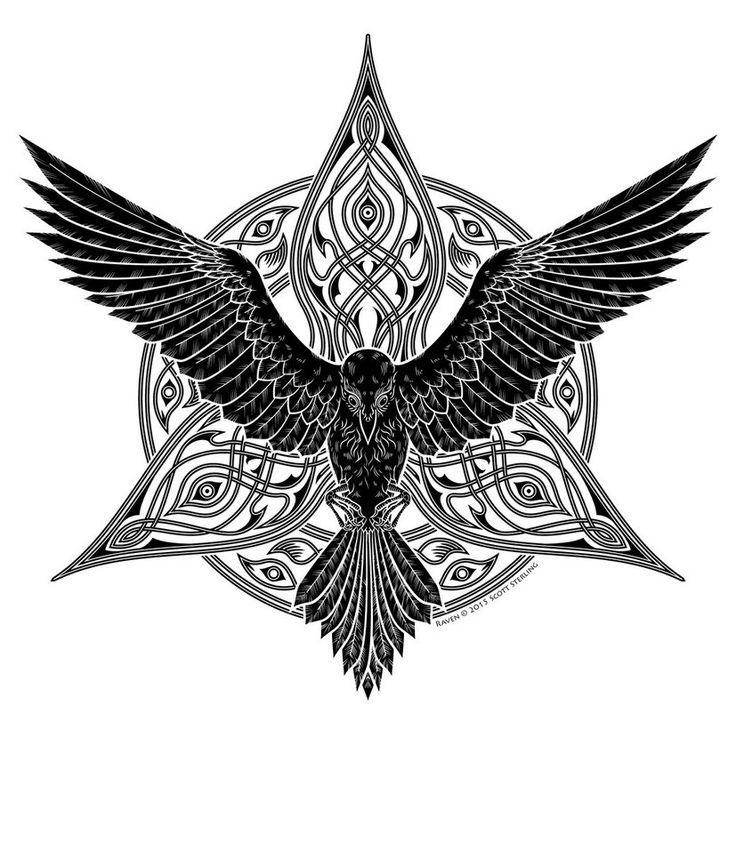 E8b693fc151850a9ec06dc72f5f6aa13 Jpg 736 858 Pixeles Raven Tattoo Norse Tattoo Celtic Raven Tattoo,Minimalist Beach House Interior Design Ideas