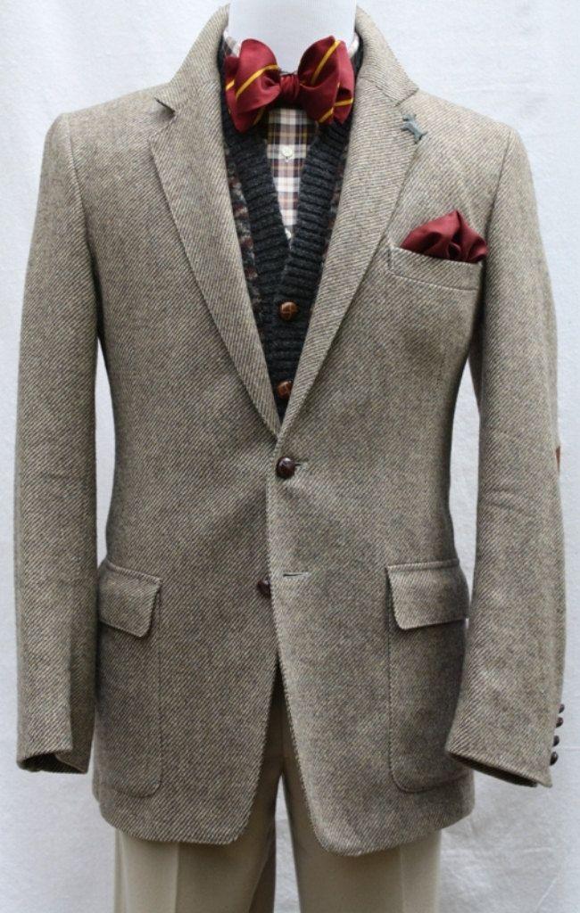 ゝ。Men's Tweed Sport Coat with Elbow Patches by Farah.。Etsy
