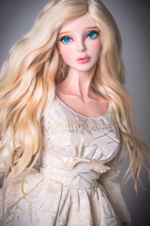 Lady Sunshine (BJD wig for dolls)