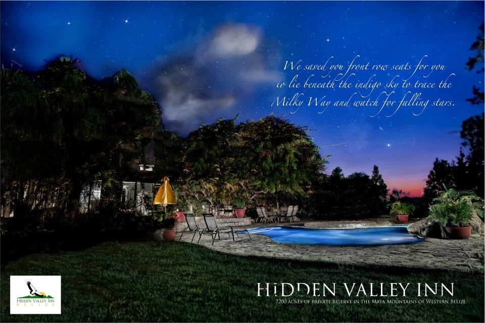 Hidden Valley Inn Located In The Jungle Of Belize Hidden Valley Belize Waterfall Photo