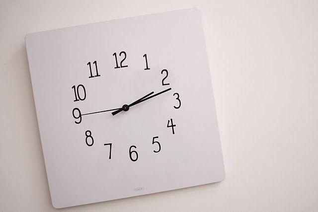 Diy Magnetic Dry Erase Clock Clock Diy Clock Wall Diy Clock