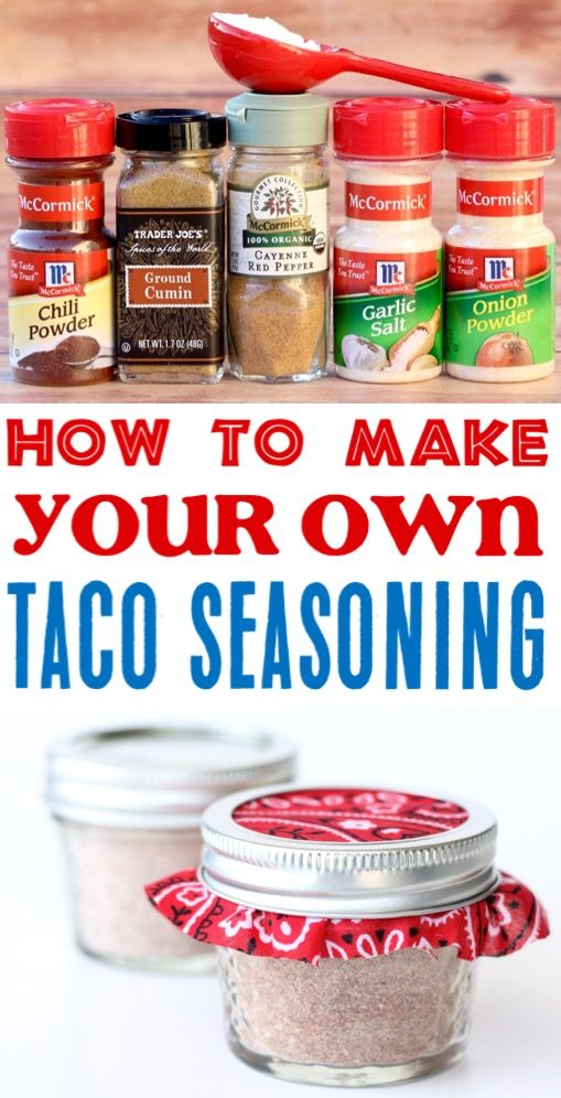 Easy Taco Seasoning Recipe! {Just 6 Ingredients} - The Frugal Girls