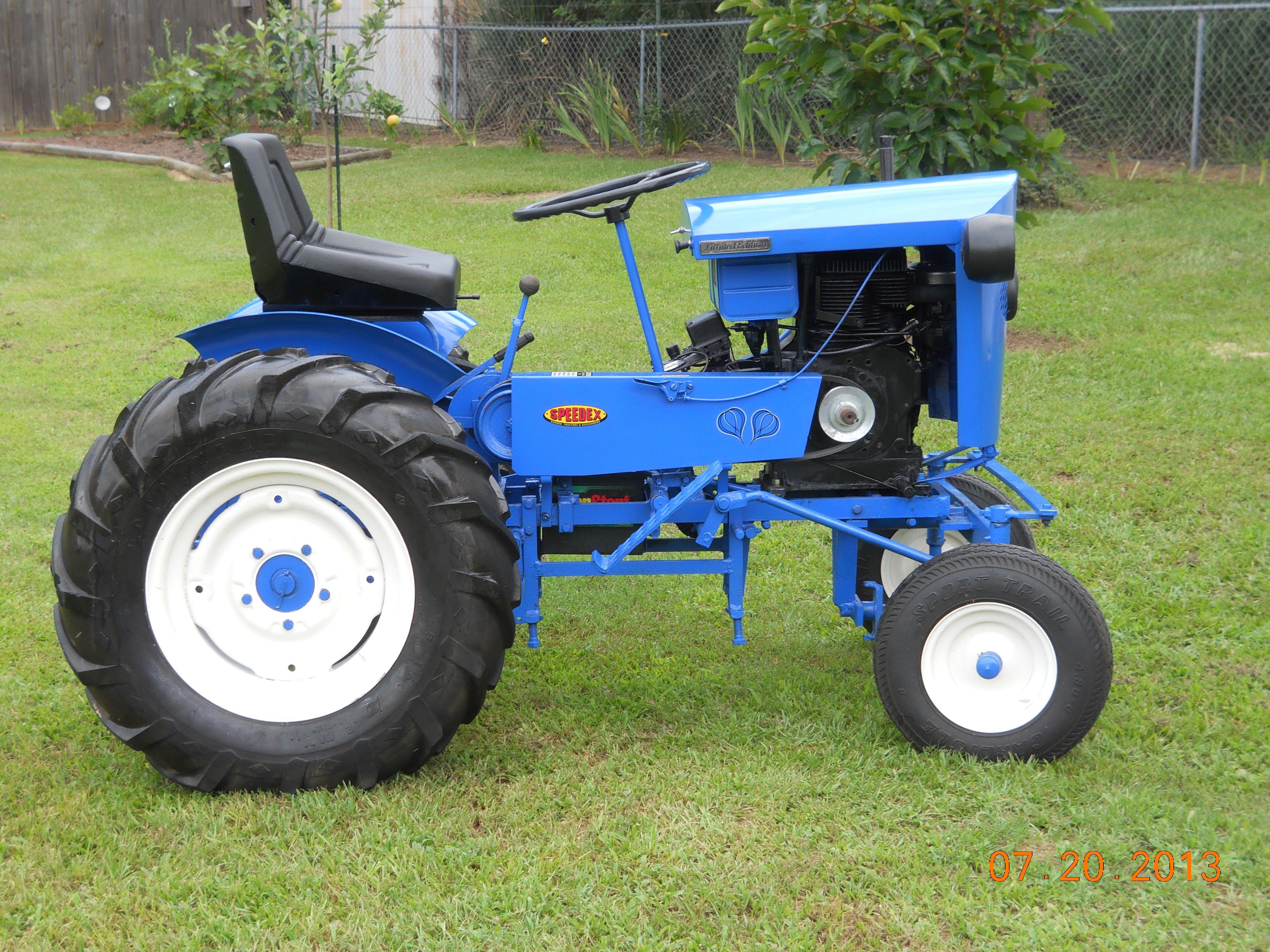 1959 Speedex Small Garden Tractor Homemade Tractor Small Tractors