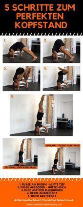 Handstand lernen – Ultimative Anleitung für den freien Handstand.   Auf dem W...  Handstand lernen –...