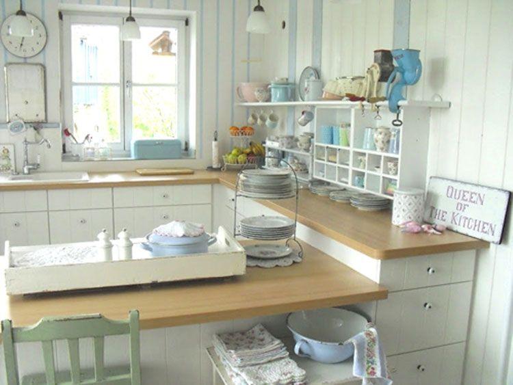 Cucina shabby chic in stile provenzale - romantico n. 05 | Cucine ...