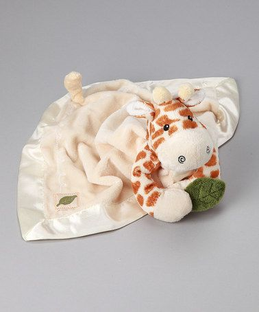 Take a look at this Jakka the Giraffe Plush Security Blanket by Baby Aspen on #zulily today!